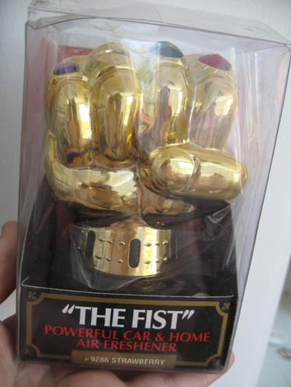 """The Fist"" Air Freshener"
