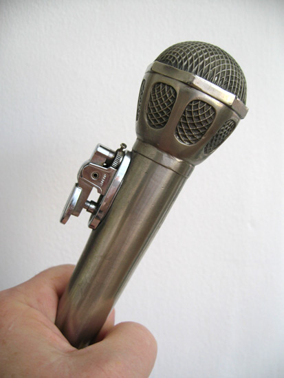 Lighter Microphone