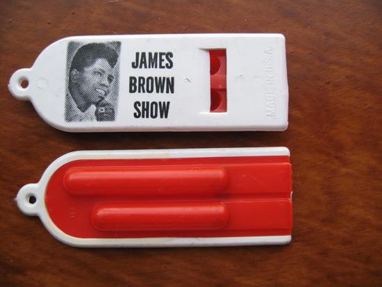 James Brown Whistle