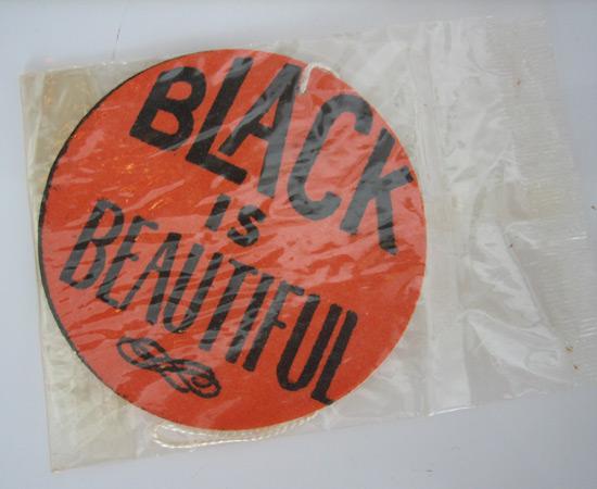 """Black is Beautiful"" Car Deodorizer"