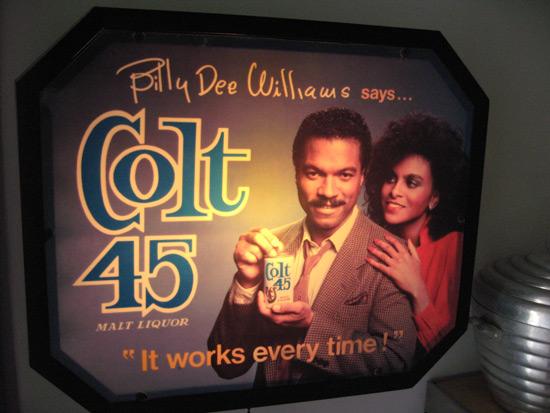 Colt 45 Beer Sign