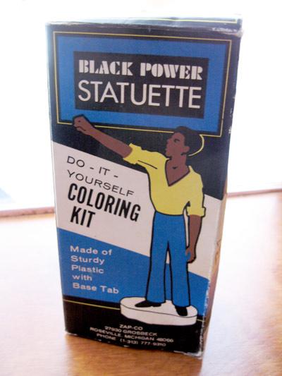 Black Power Statuette Kit