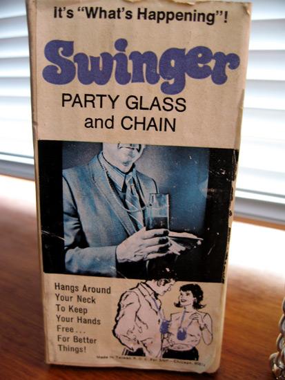 Swinger Party Glass